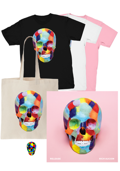 Rich Aucoin - Release (CD) + T-Shirt + Tote + Pin