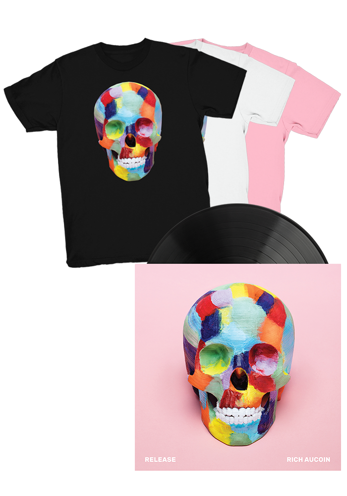 Rich Aucoin - Release (LP) + T-Shirt