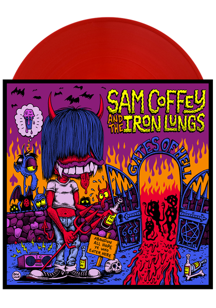 Sam Coffey & The Iron Lungs - Gates of Hell (LP)