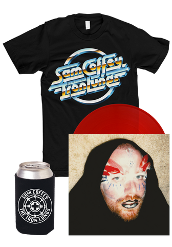 Sam Coffey & The Iron Lungs - LP + T-Shirt + Koozie Bundle