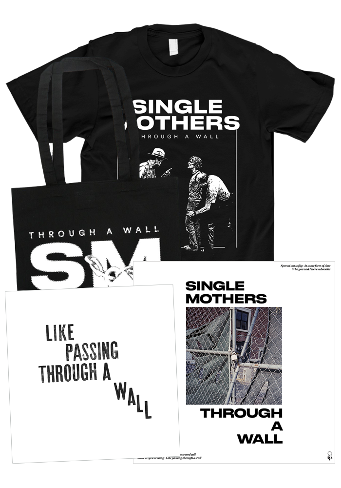 Single Mothers - Through A Wall (CD + Black Shirt Bundle)