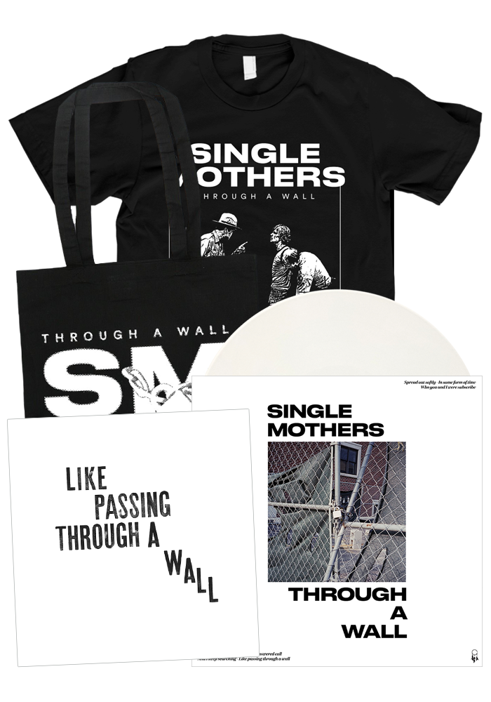 Single Mothers - Through A Wall (LP + Black Shirt Bundle)