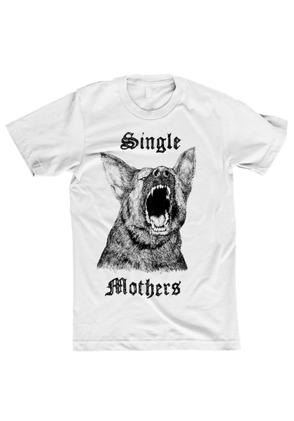 Single Mothers - Through A Wall (CD + White Shirt Bundle)
