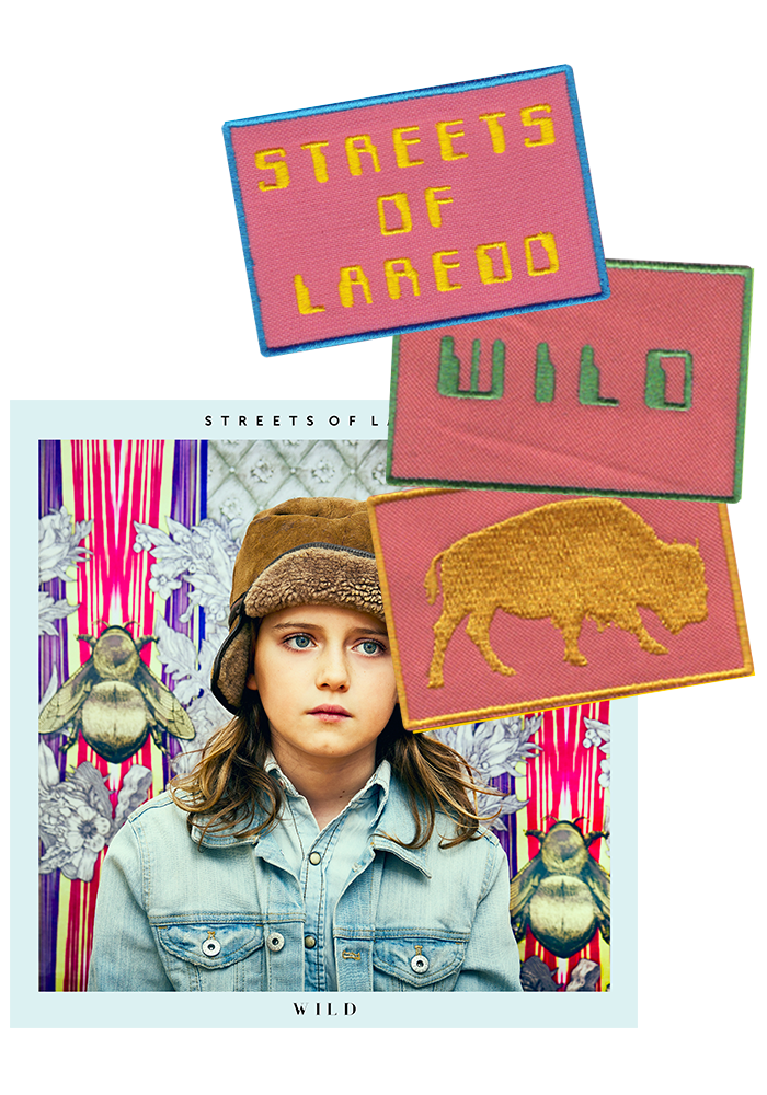 Streets Of Laredo - Wild (CD) + Patch Set