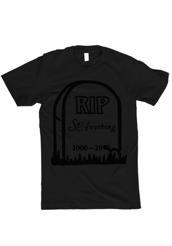 Say Anything - RIP T-Shirt