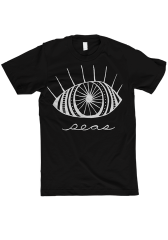 seas - eye Black T-Shirt
