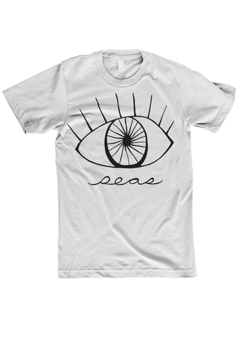 seas - eye White T-Shirt