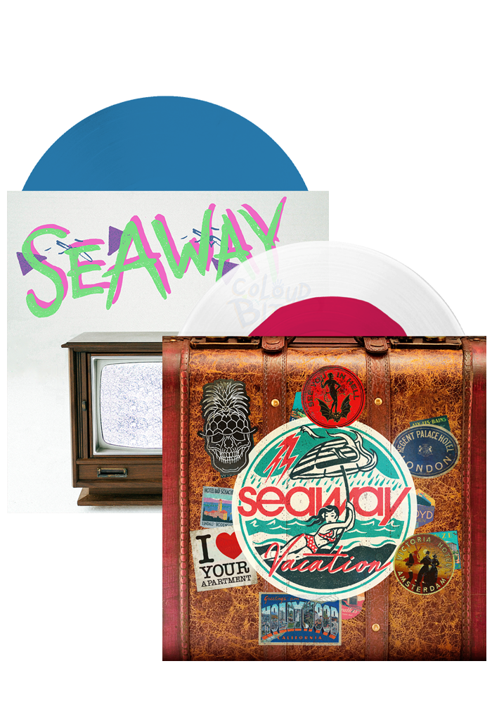 Seaway - Vacation / Colour Blind (LP Bundle)