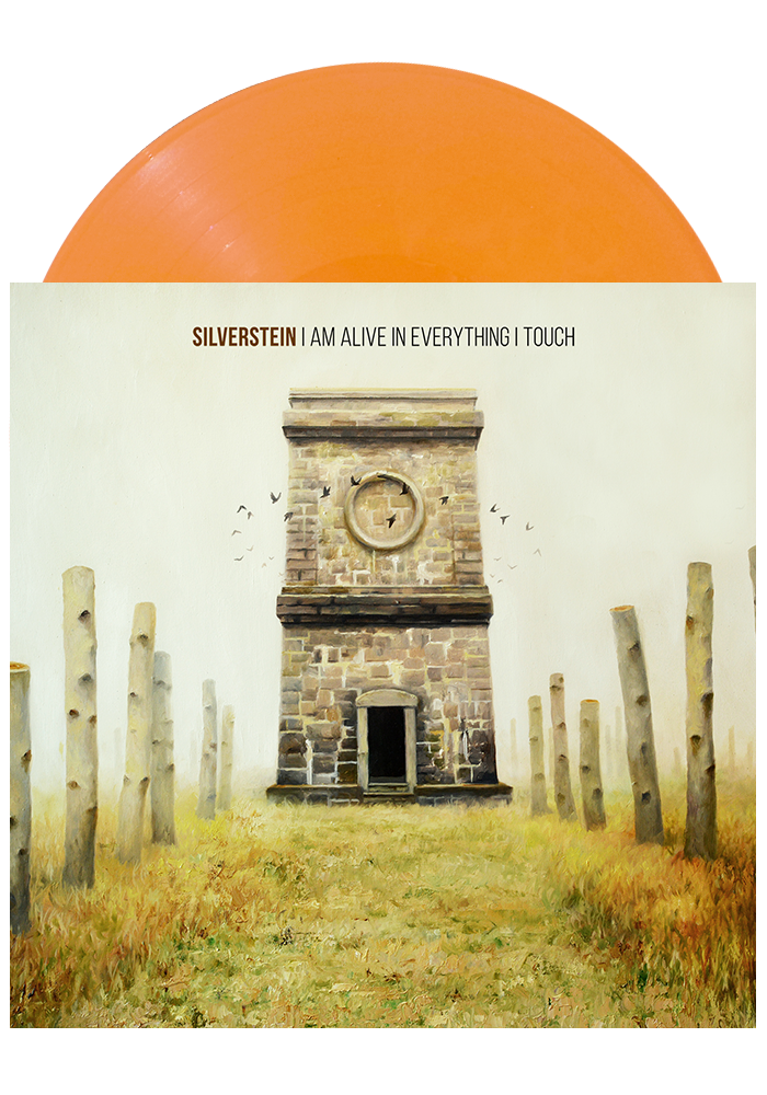 I Am Alive In Everything I Touch (Orange LP)-Silverstein-Dine Alone Records