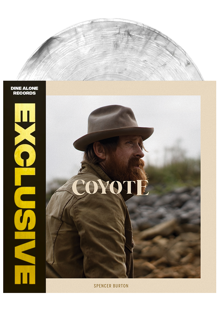 Coyote (Clear Smoke LP)-Spencer Burton-Dine Alone Records