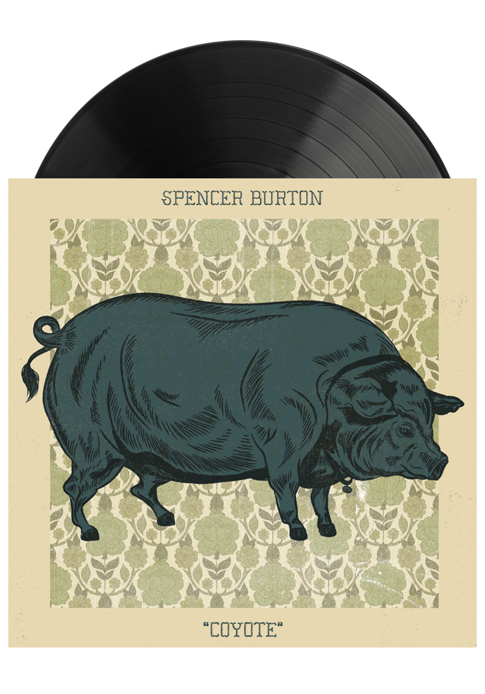 Spencer Burton - Coyote (Test Pressing LP) [PRE-ORDER]