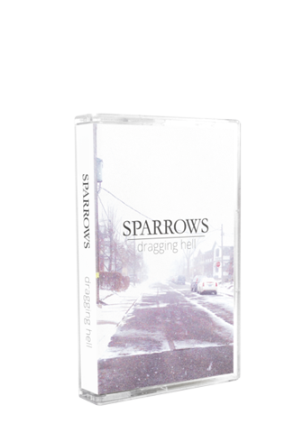 SPARROWS - Dragging Hell (Tape) - New Damage Records