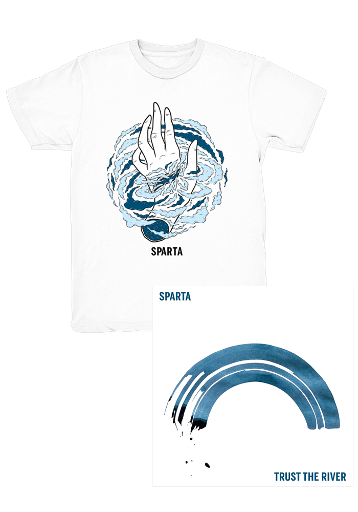 Sparta - Trust The River (CD) + T-Shirt