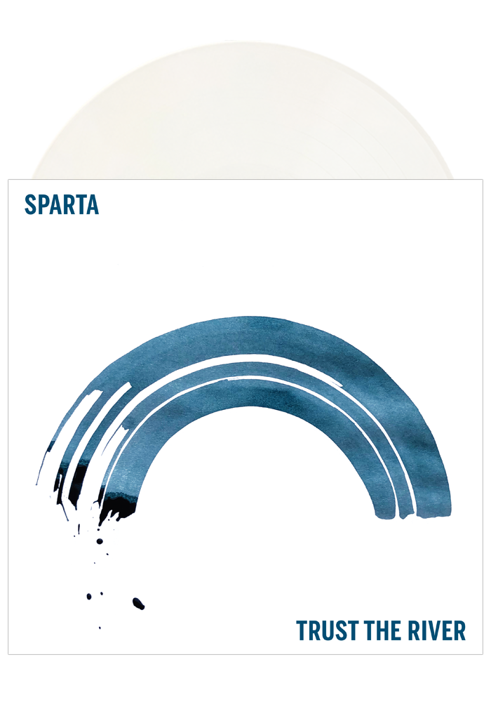 Sparta - Trust The River (White LP) + T-Shirt