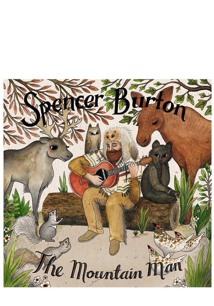 The Mountain Man (CD)-Spencer Burton-Dine Alone Records