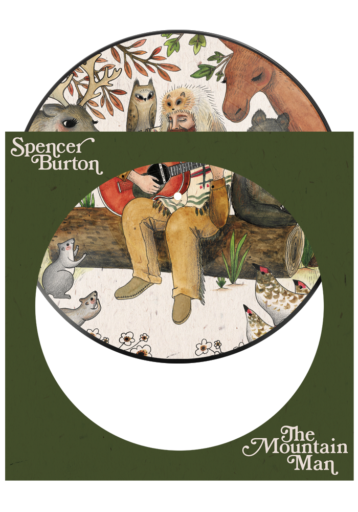 The Mountain Man (Picture Disc)-Spencer Burton-Dine Alone Records