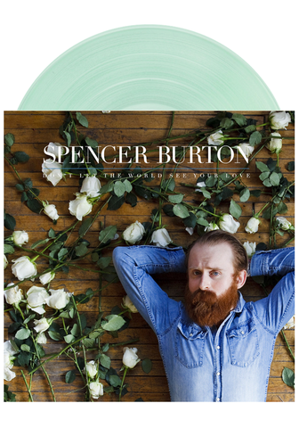 Spencer Burton - Don't Let The World See Your Love (Mint LP)