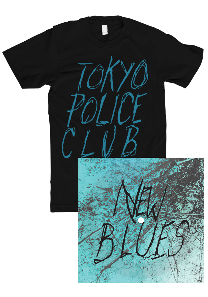 New Blues Flexi + T-Shirt-Tokyo Police Club-Dine Alone Records