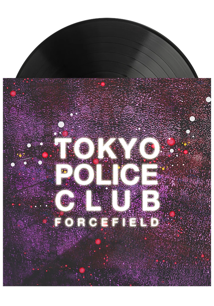 Forcefield (LP)-Tokyo Police Club-Dine Alone Records