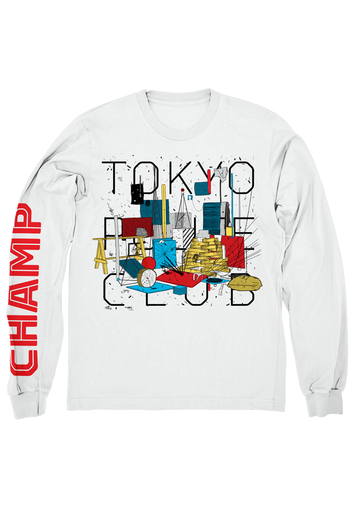 Champ Longsleeve Shirt-Tokyo Police Club-Dine Alone Records