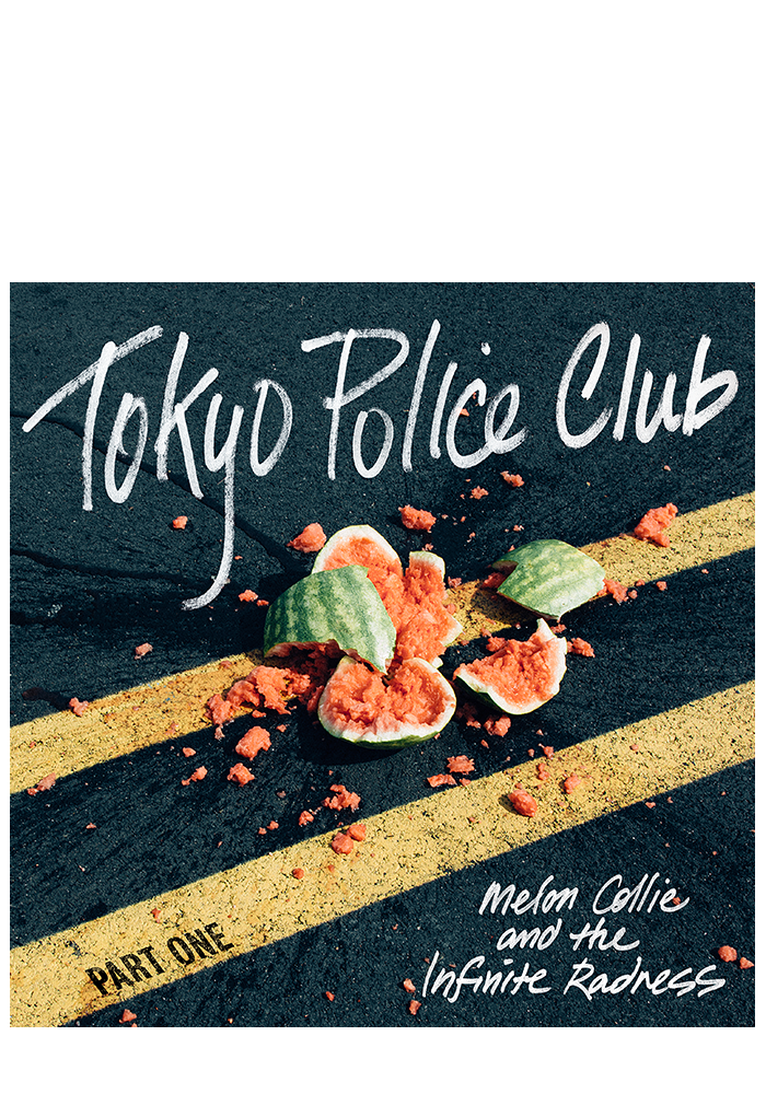 Melon Collie And The Infinite Radness Pt.1 (CD)-Tokyo Police Club-Dine Alone Records