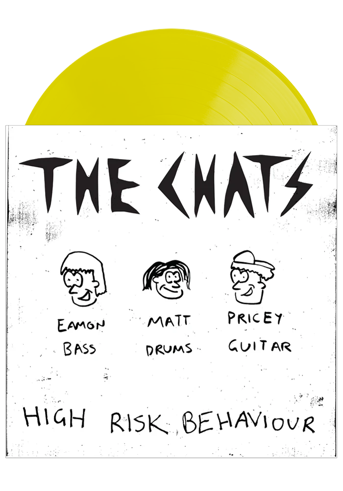 The Chats - High Risk Behaviour (Piss Yellow LP)