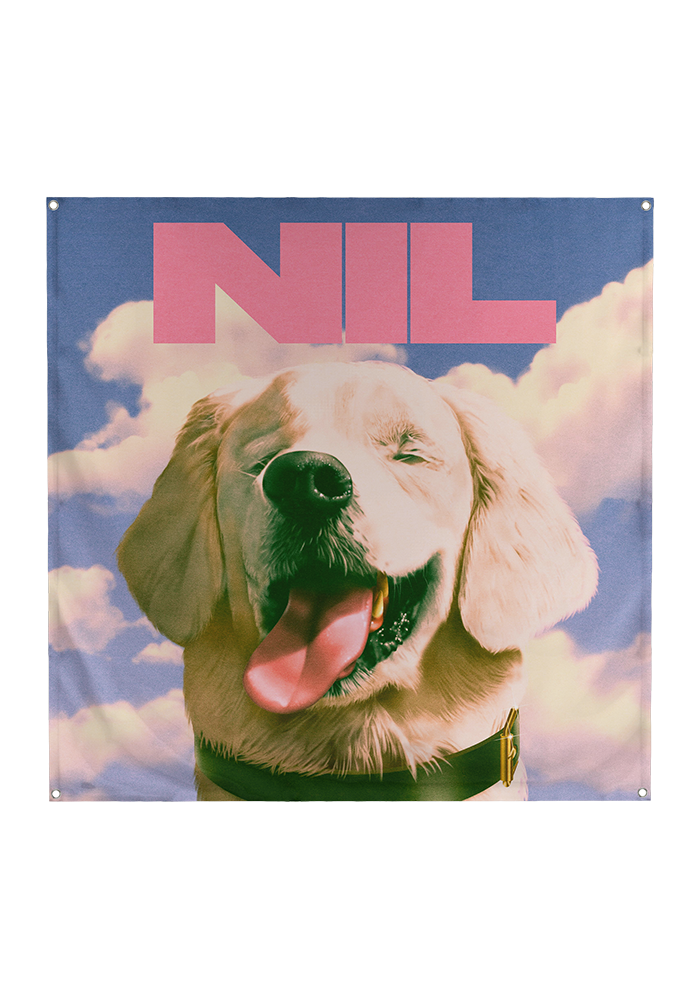 The Dirty Nil - Fuck Art Wall Flag [PRE-ORDER]
