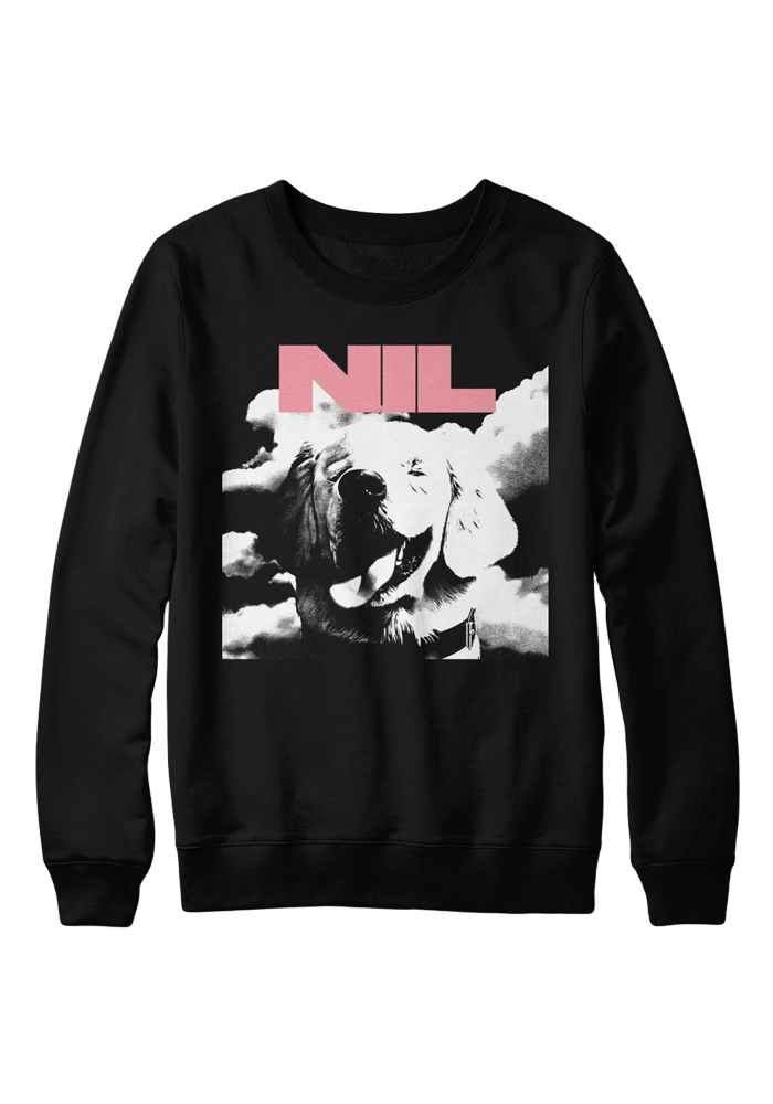 Fuck Art Crew Neck Sweatshirt-The Dirty Nil-Dine Alone Records