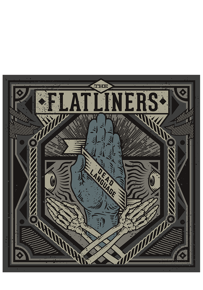 THE FLATLINERS - Dead Language (CD) - New Damage Records