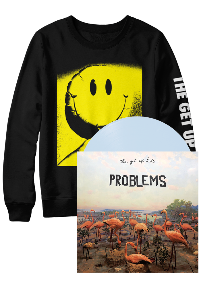 The Get Up Kids - Problems (LP + Sweatshirt Bundle)