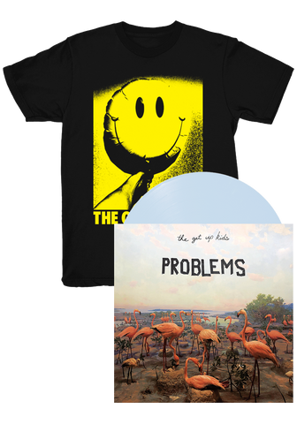 The Get Up Kids - Problems (LP + Balloon Shirt Bundle)