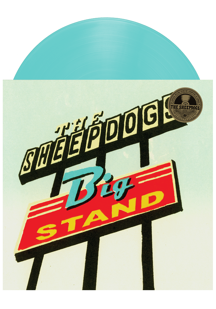 The Sheepdogs - Big Stand (Blue LP)