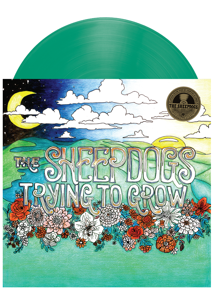 The Sheepdogs - Trying To Grow (Green LP)