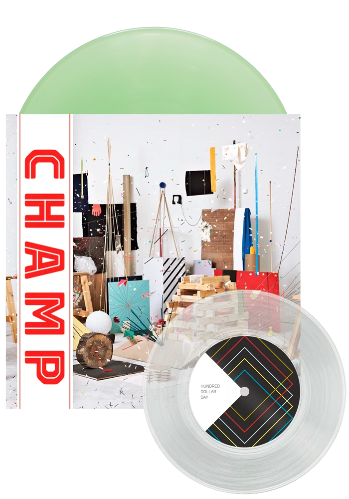 "Champ (10 Year Anniversary Coke Bottle LP+7"")-Tokyo Police Club-Dine Alone Records"