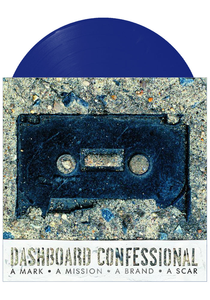 Dashboard Confessional - A Mark, A Mission, A Brand, A Scar (Blue LP)
