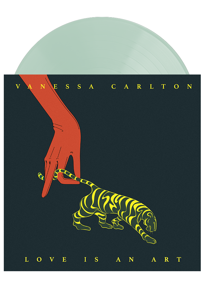 Vanessa Carlton - Love Is An Art (Coke Bottle Clear LP)