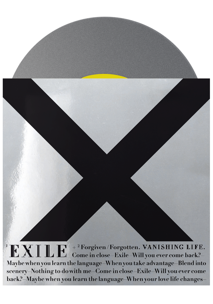 "Exile b/w Forgiven/Forgotten (Silver 7"")-Vanishing Life-Dine Alone Records"