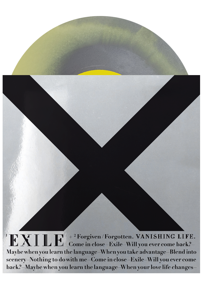 "Exile b/w Forgiven/Forgotten (Swirl 7"")-Vanishing Life-Dine Alone Records"