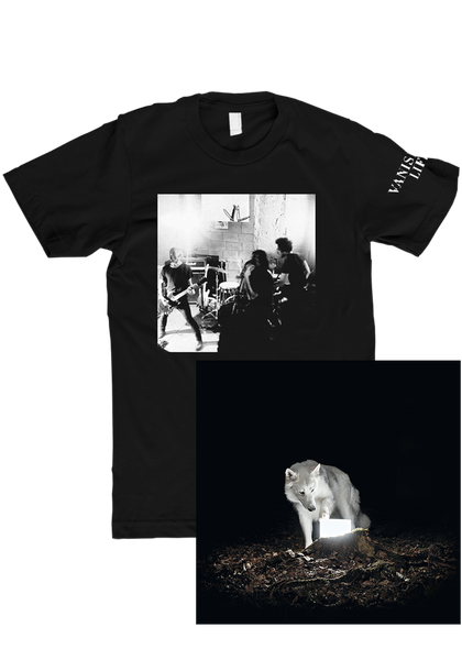 Vanishing Life - Surveillance (CD) + T-Shirt