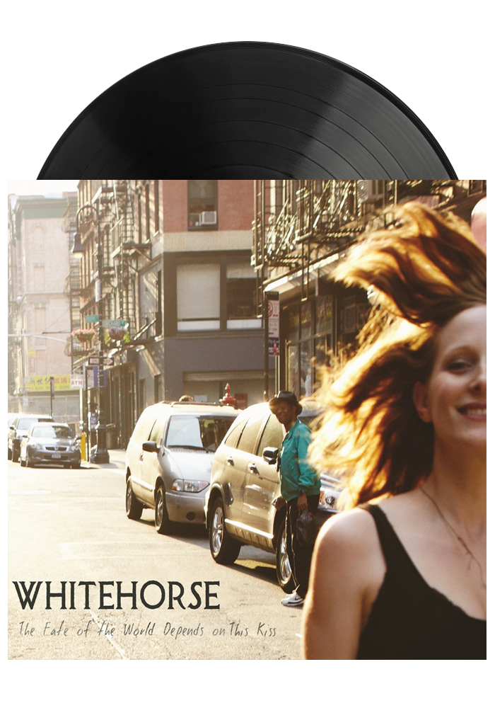 Whitehorse - The Fate Of The World Depends On This Kiss (LP)