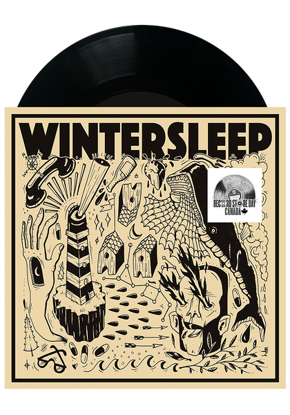 "Wintersleep - Free Fall / Fading Out (7"")"