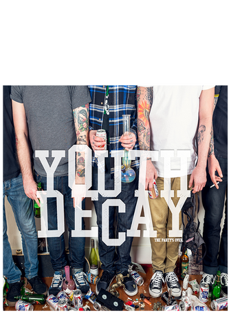 YOUTH DECAY - The Party's Over (CD) - New Damage Records