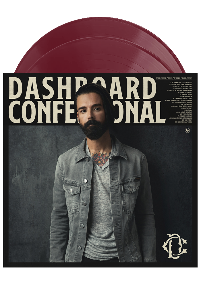 Dashboard Confessional ‎– The Best Ones Of The Best Ones (Maroon 2LP)