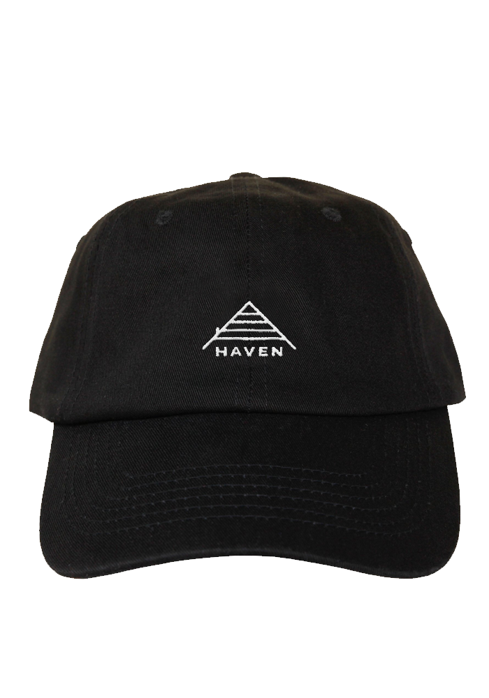 Logo Dad Hat-Haven-Dine Alone Records