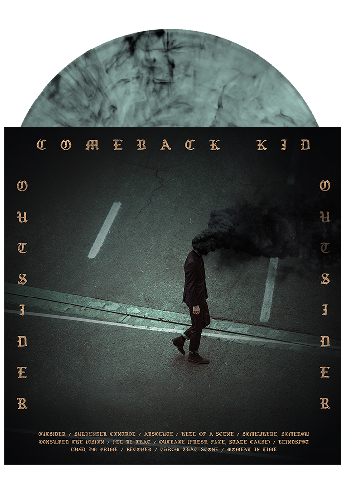 Comeback Kid - Outsider (Teal w/ Black Smoke LP)