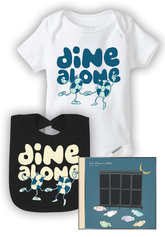 Dine Alone Lullabies (Baby Bundle - White)