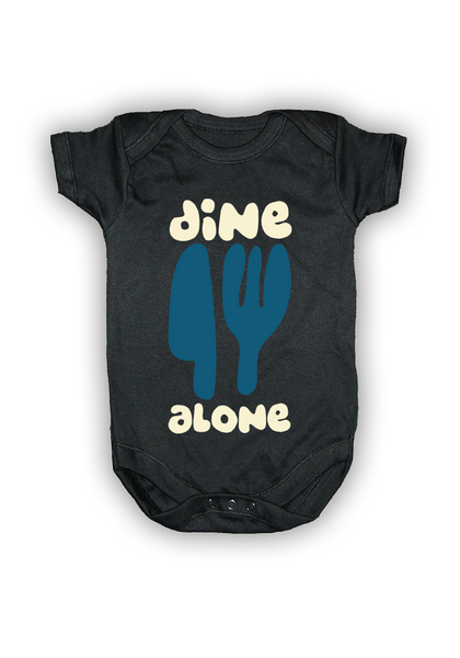 Dine Alone Lullabies (Baby Bundle - Black)