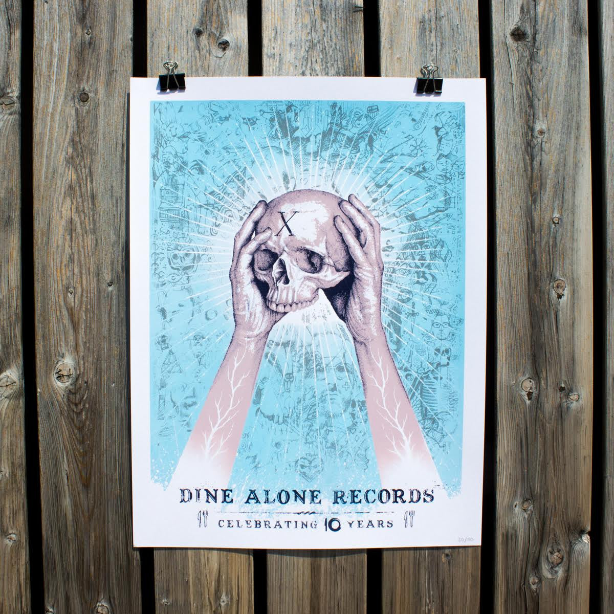 Paul Jackson DA10 Poster-Dine Alone Records-Dine Alone Records