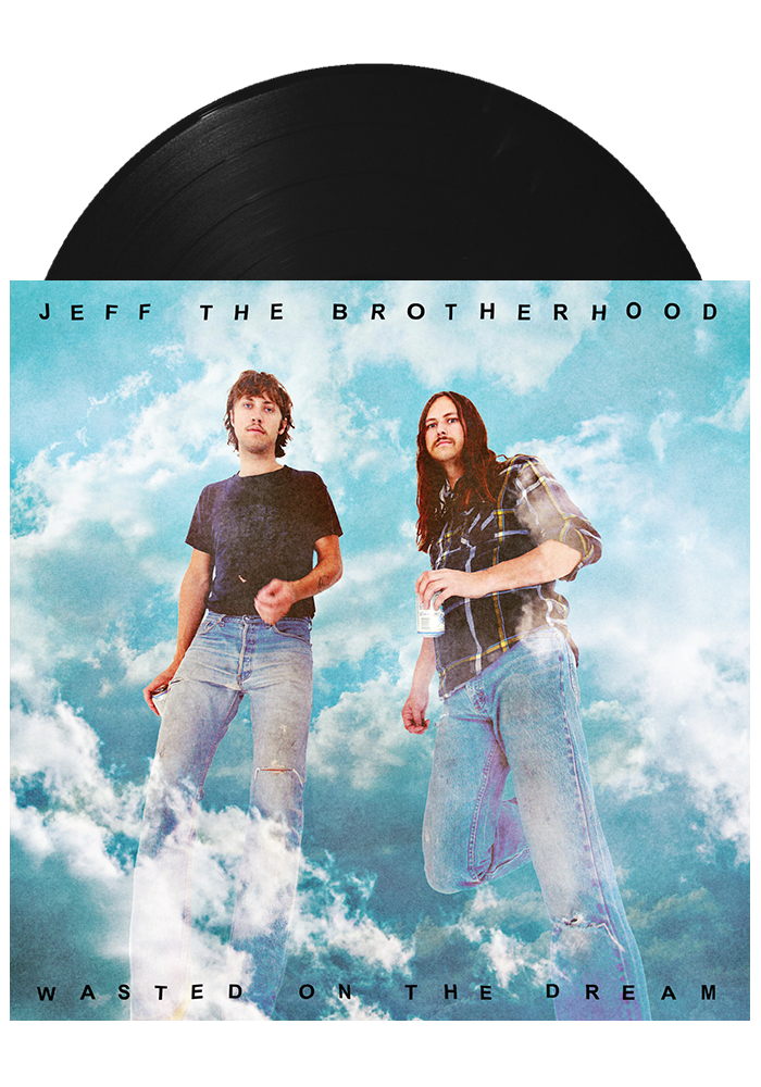 Wasted on the Dream (LP)-JEFF The Brotherhood-Dine Alone Records