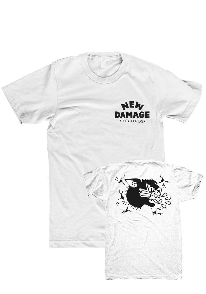 New Damage Records - Cat T-Shirt
